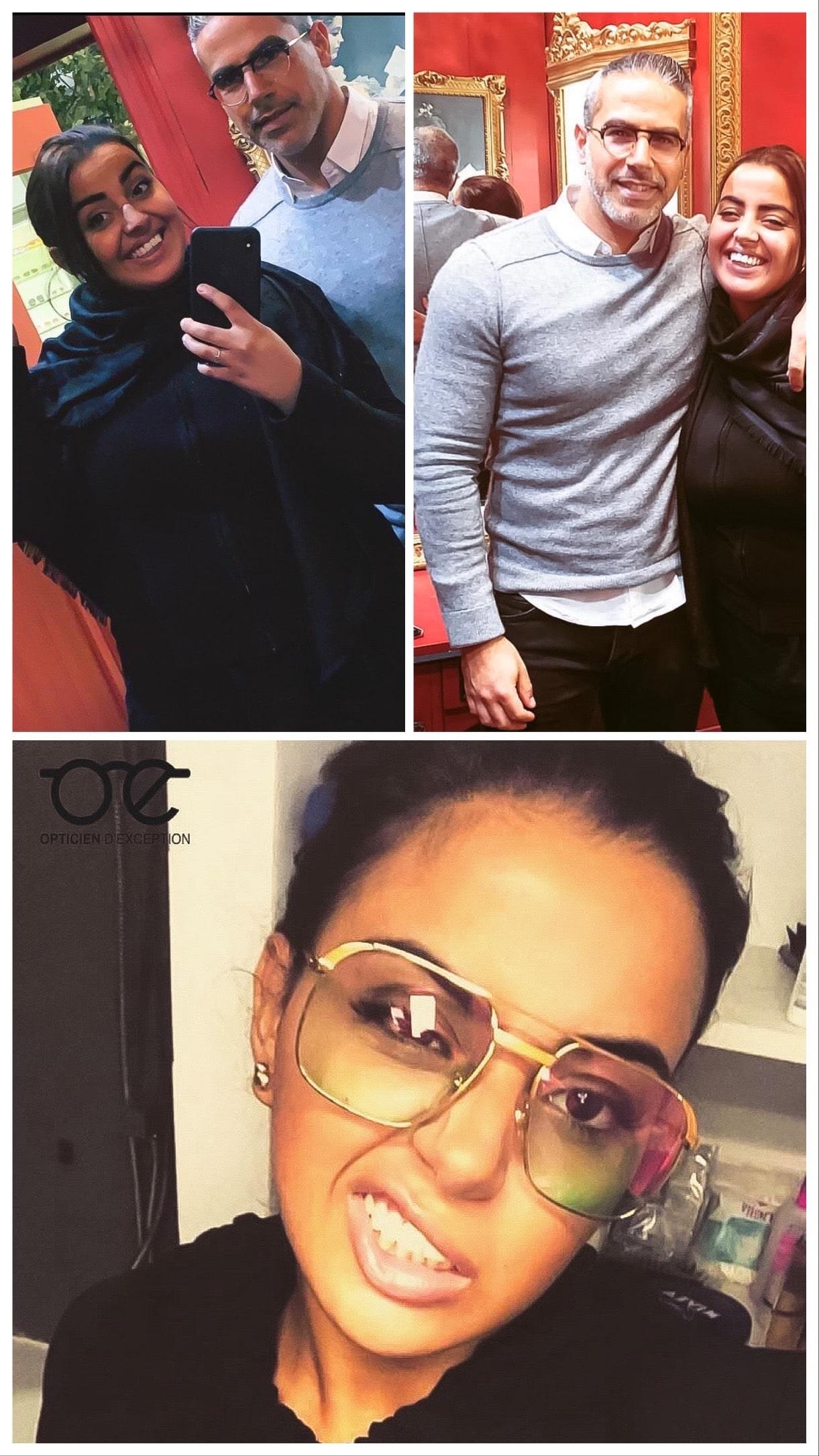 Marwa Loud en direct du shop pour ses nouvelles lunettes !