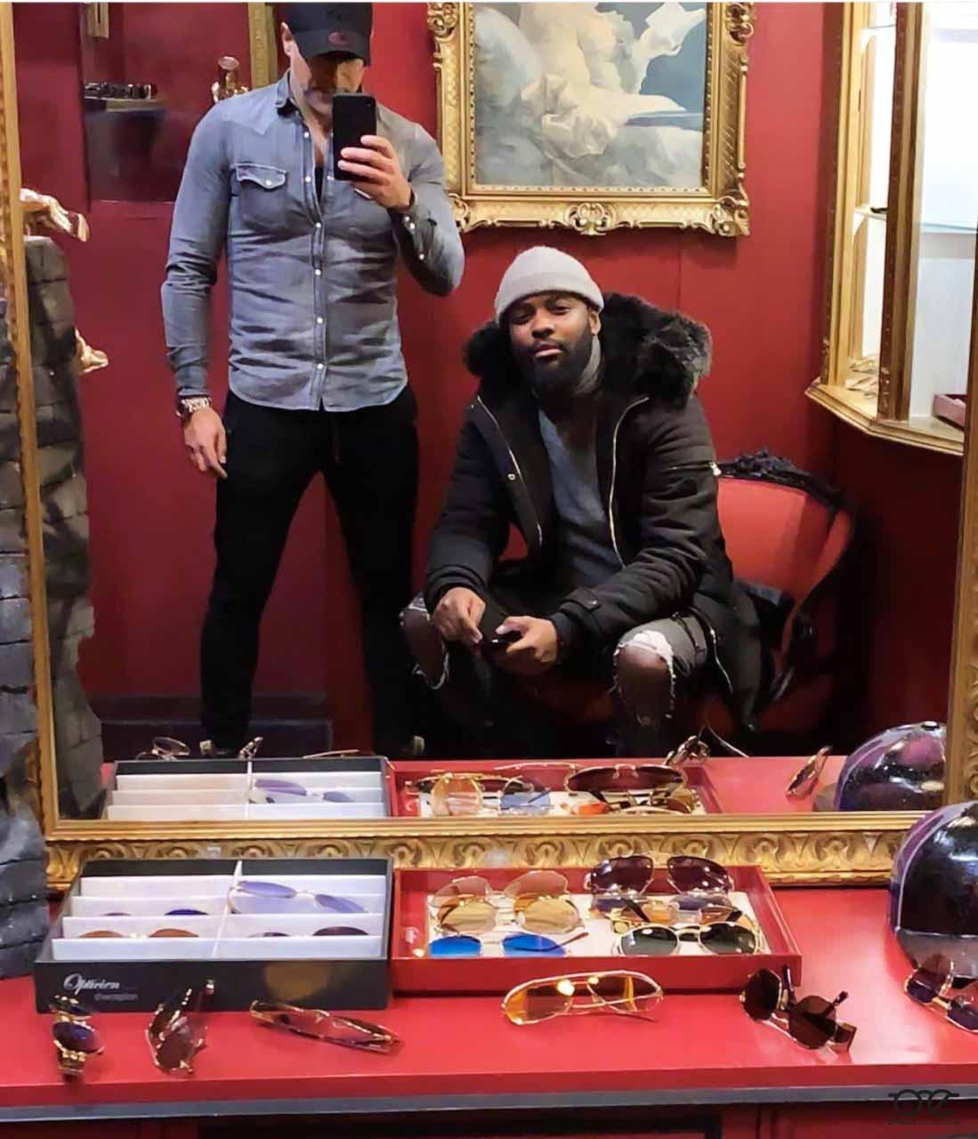 Hiro au Showroom avec Baruk Abergel !